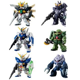 《機動戰士鋼彈》FW GUNDAM CONVERGE #17 第十七彈「鋼彈DX」、「鋼彈NT-1」、「薩克II改」等人氣機體登場!