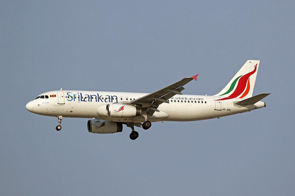 4R-ABL A.320, SriLankan Airlines, Dubai