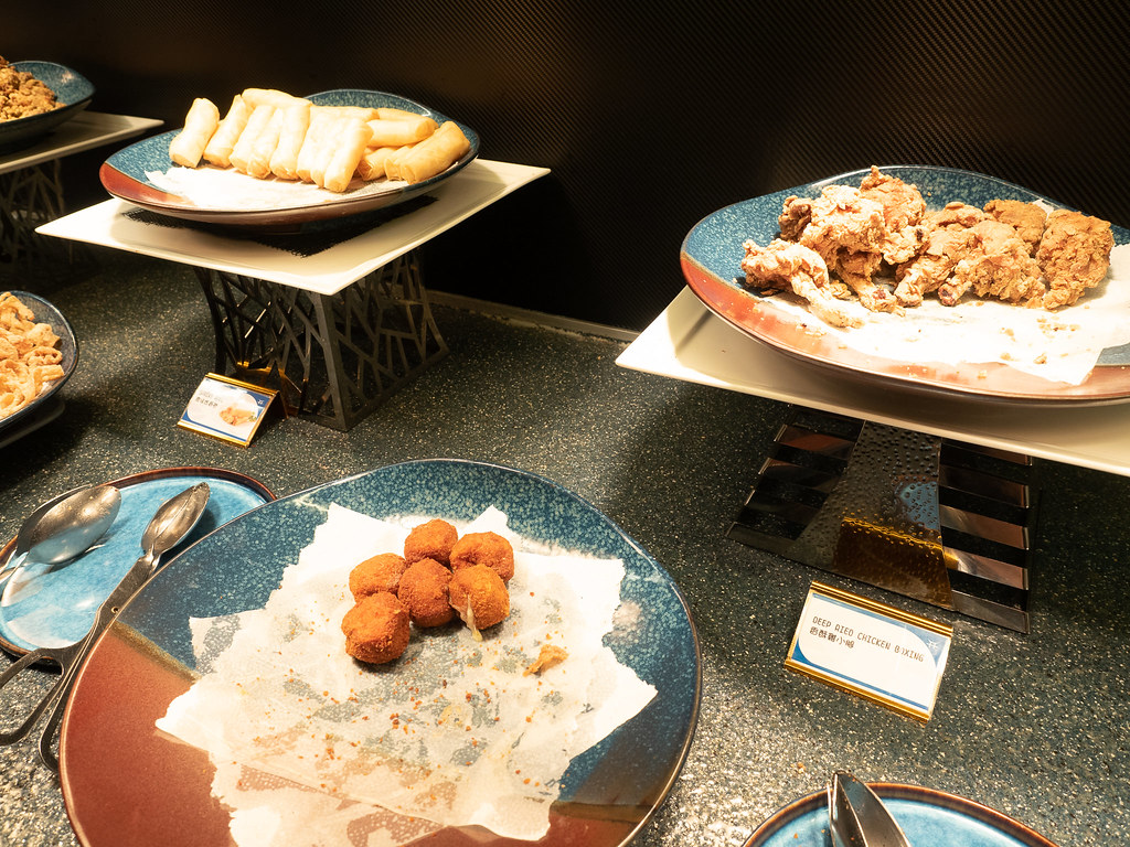 Fried food at Jogoya Buffet Restaurant.