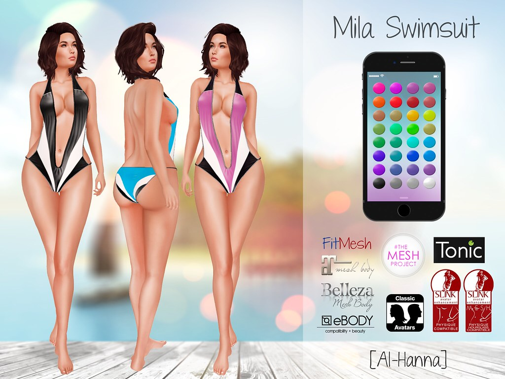 [Al-Hanna] Mila Swimsuit