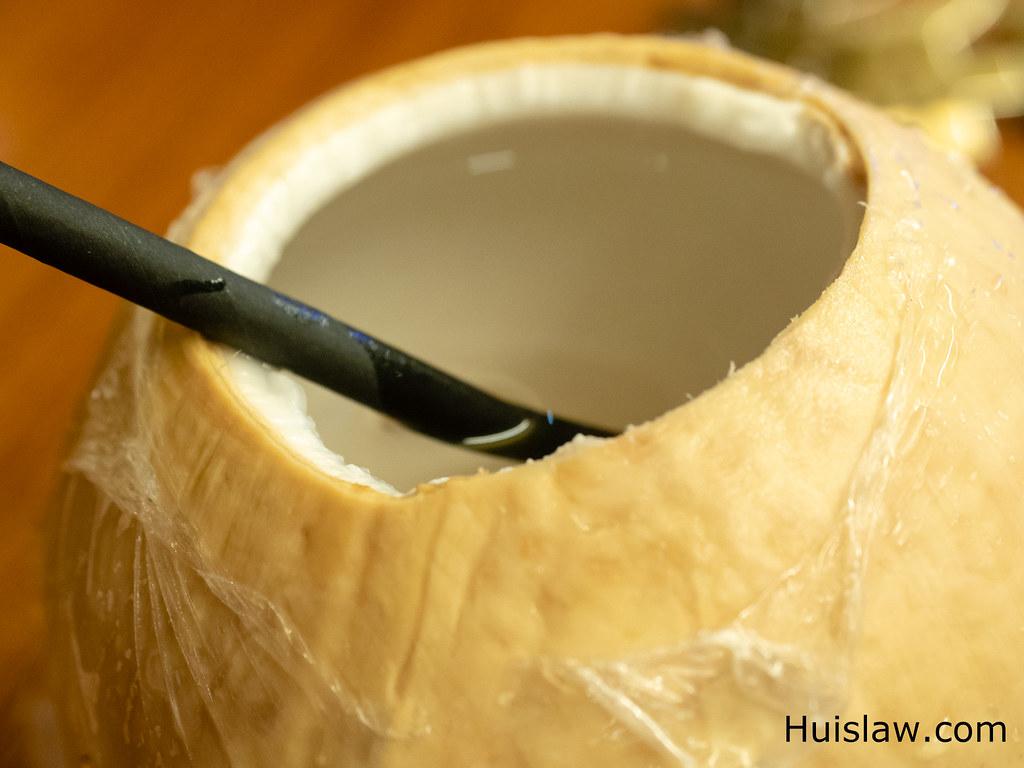 Thai coconut at Jogoya.