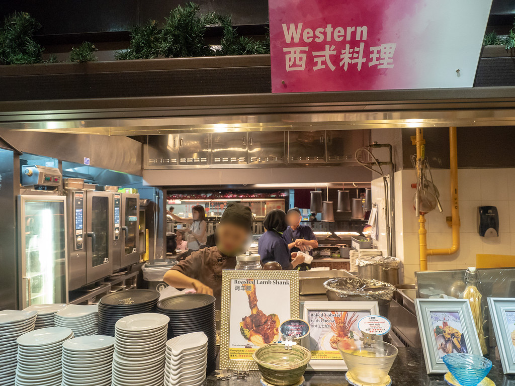 Jogoya Buffet Restaurant's western food section.