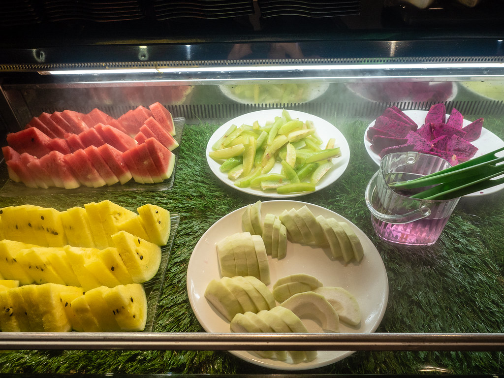 Fresh cut fruits at Jogoya Buffet Restaurant at Starhill Gallery