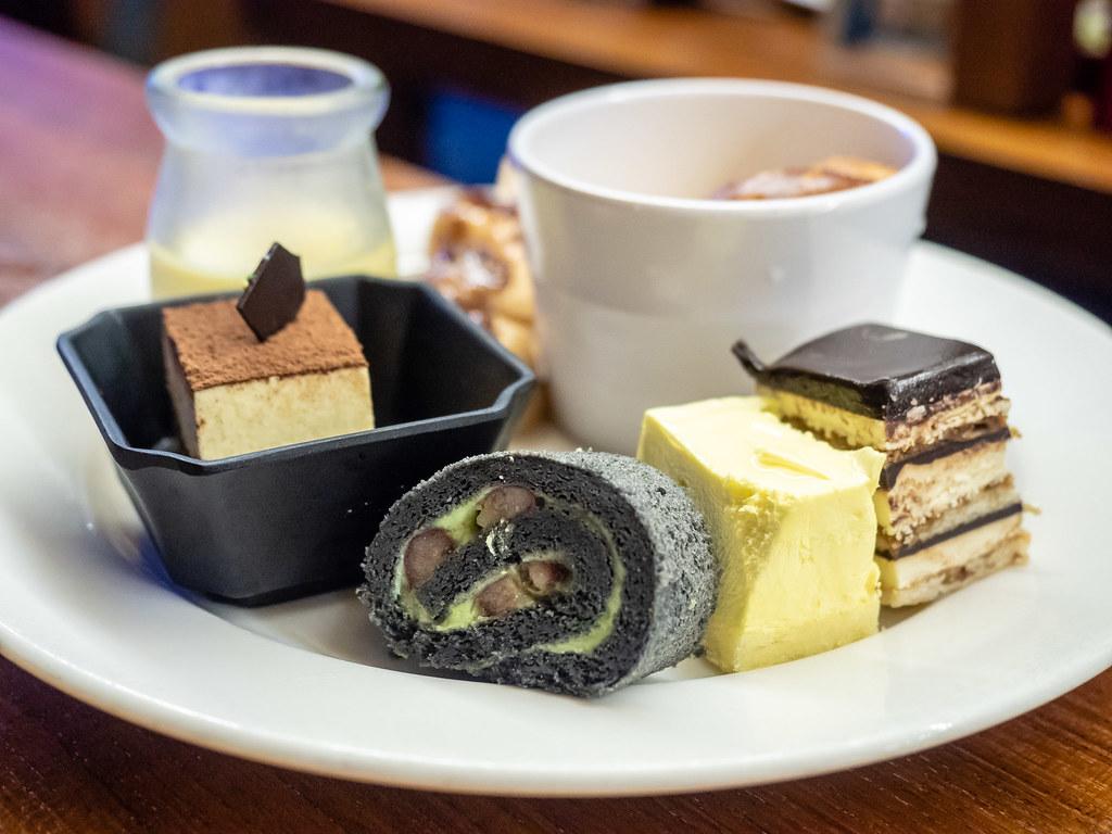 Desserts at Jogoya Buffet Restaurant at Starhill Gallery, Kuala Lumpur
