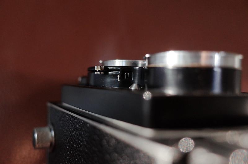 RolleicordⅣ+Schneider Xenar 75mm f3 5絞り3