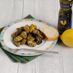 Auberginen und Zucchini mit Rosmarin und Fenchelsaat