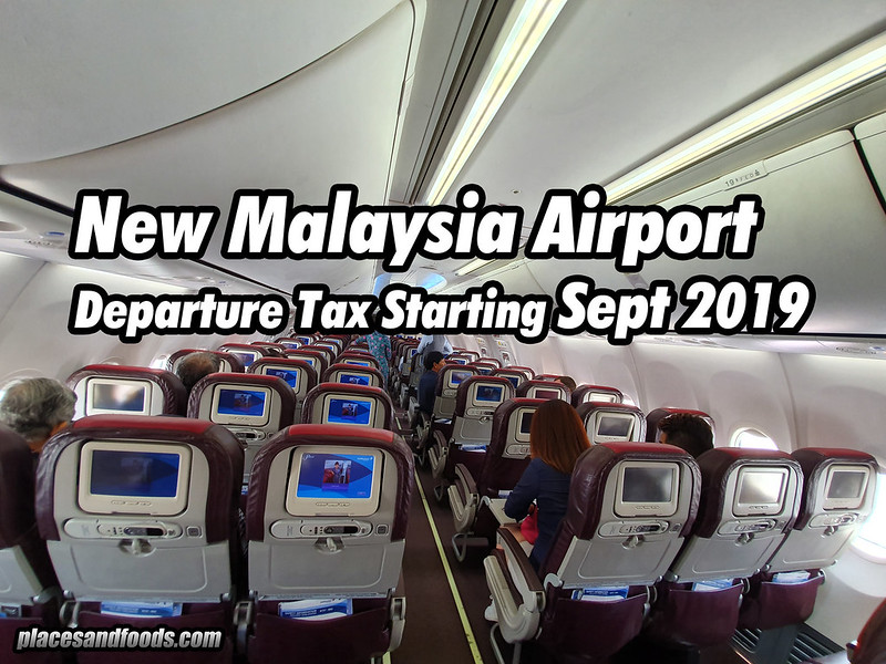 new malaysia airport departure tax