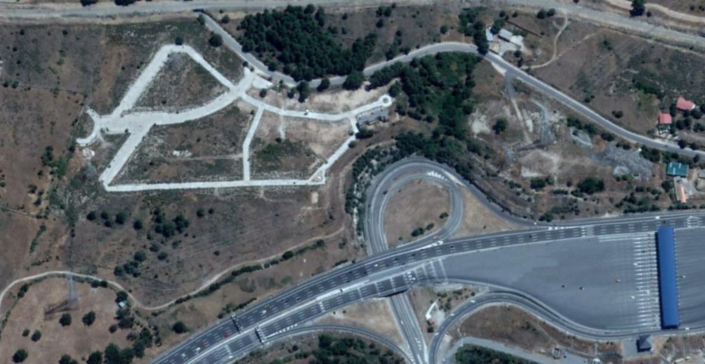 la estación del espinar, segovia, aquí veníais facinerosos, después, urbanismo, planeamiento, urbano, desastre, urbanístico, construcción, rotondas, carretera