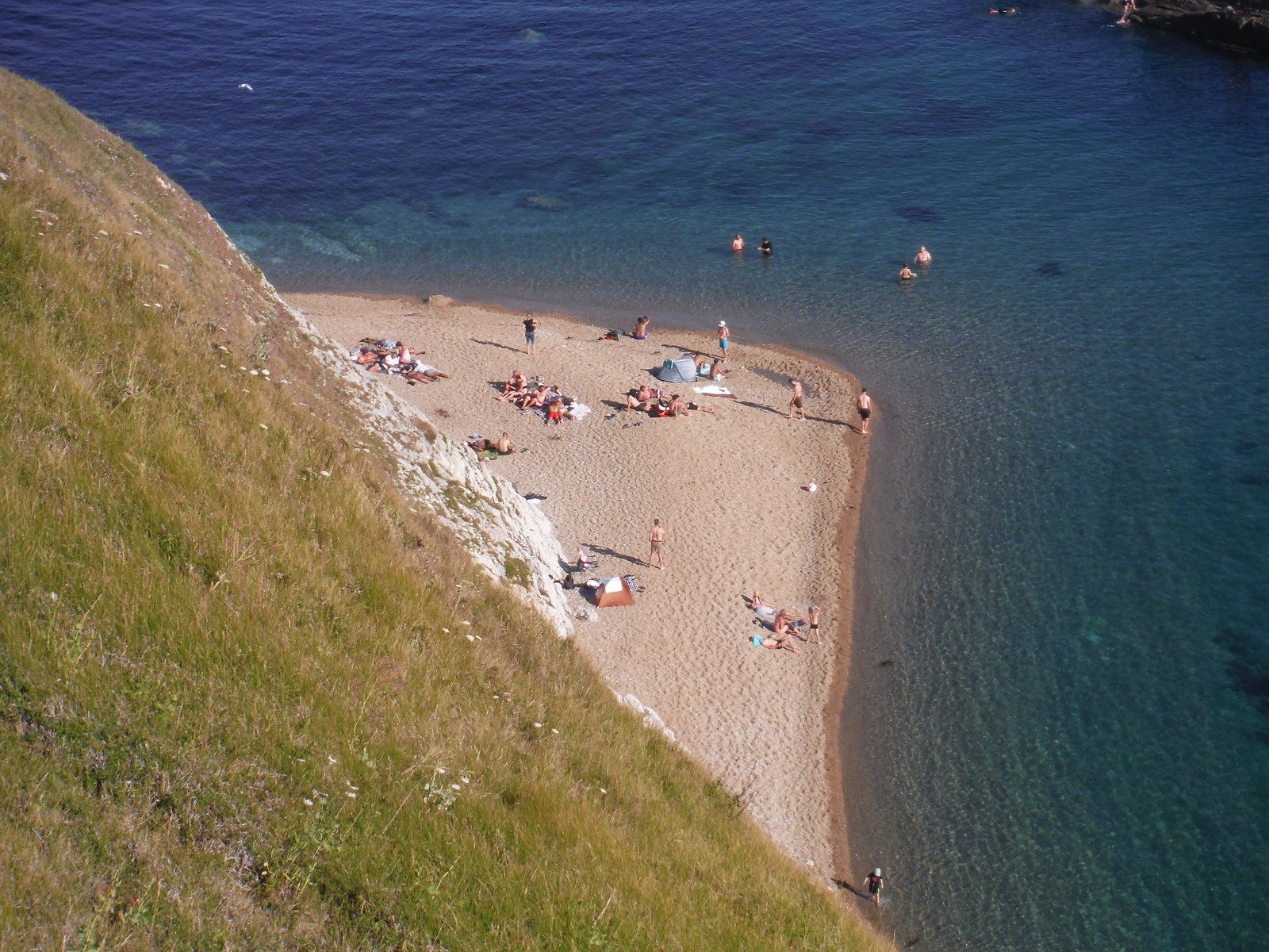 Man o' War Bay, Detail SWC Walk 54 - Lulworth Cove Circular (via Tyneham and Durdle Door)