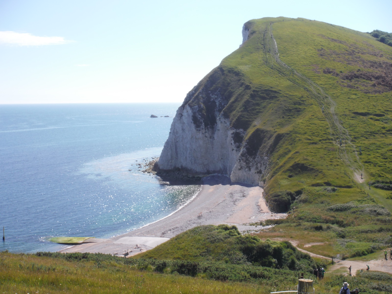 Arish Mell and Bindon Hill SWC Walk 54 - Lulworth Cove Circular (via Tyneham and Durdle Door)