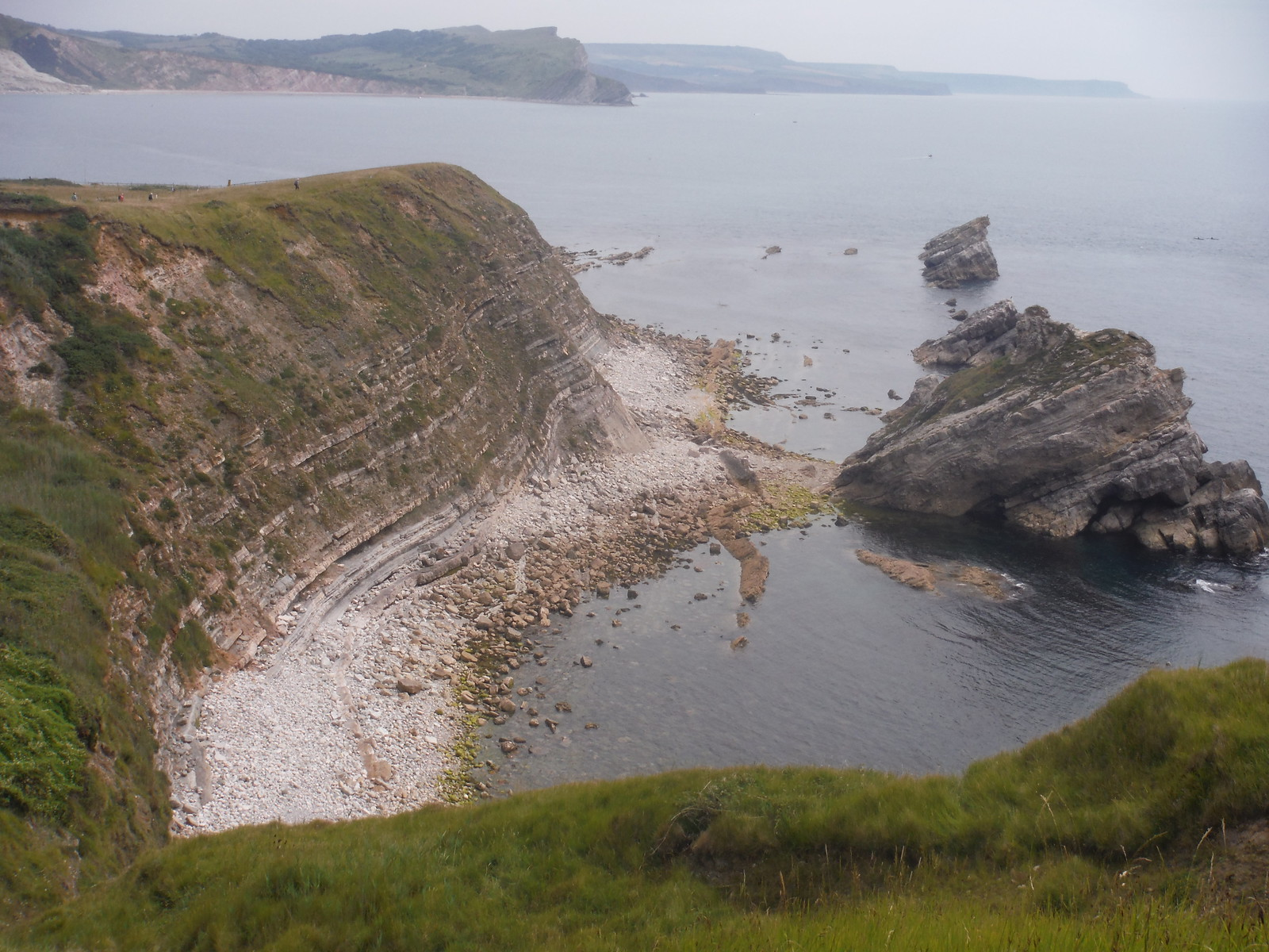 Mupe Rocks SWC Walk 54 - Lulworth Cove Circular (via Tyneham and Durdle Door)