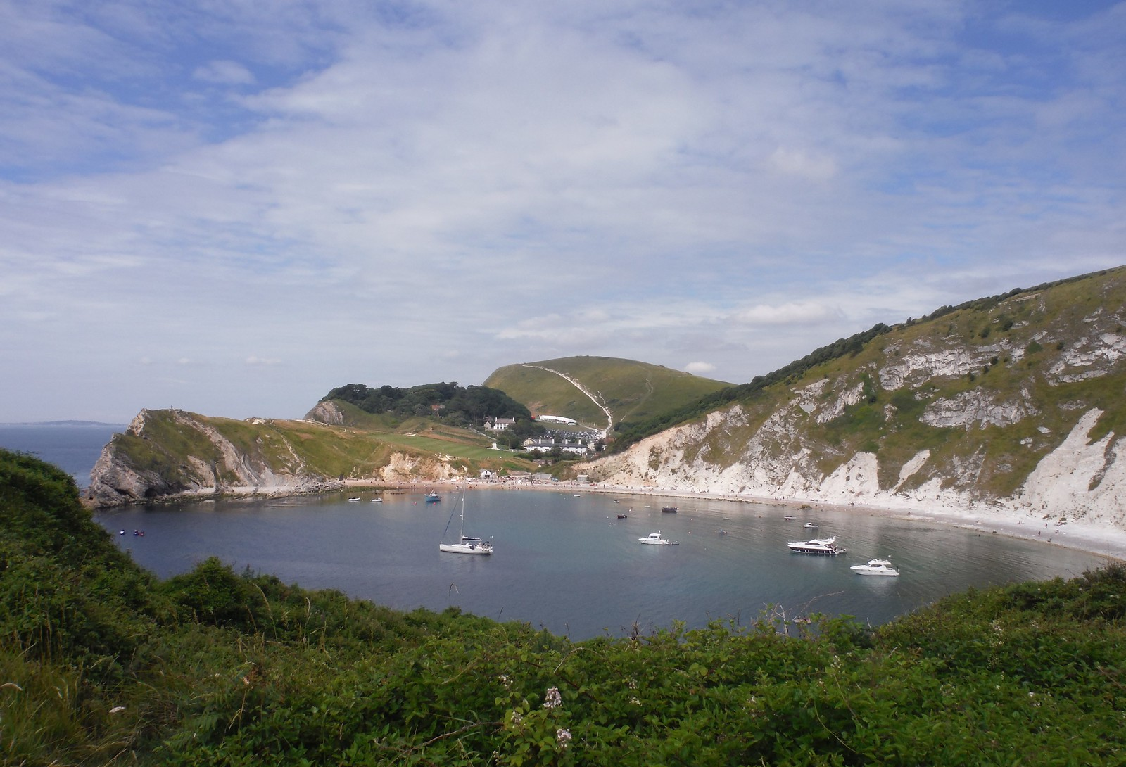Lulworth Cove and Hambury Tout SWC Walk 54 - Lulworth Cove Circular (via Tyneham and Durdle Door)