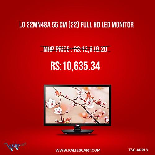 LG 22MN48A 55 cm (22) Full HD LED Monitor