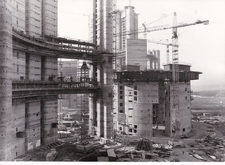 Construction of the Vienna International Centre