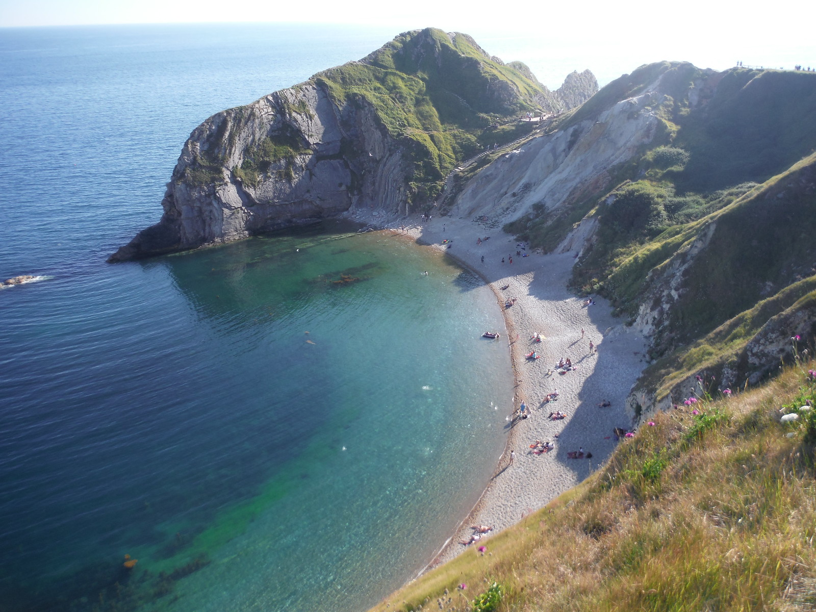 Man o' War Bay SWC Walk 54 - Lulworth Cove Circular (via Tyneham and Durdle Door)