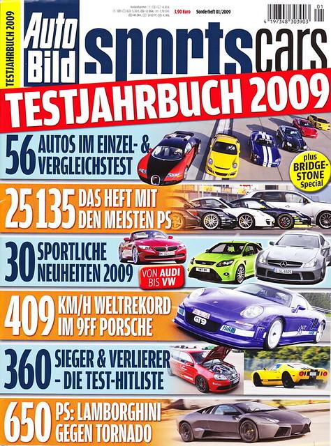 Auto Bild Sportscars - Sonderheft 1/2009