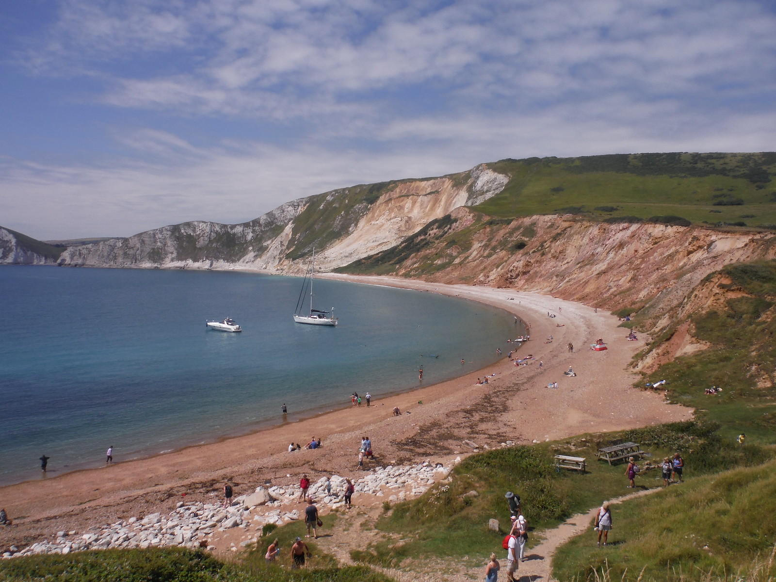 Worbarrow Bay SWC Walk 54 - Lulworth Cove Circular (via Tyneham and Durdle Door)
