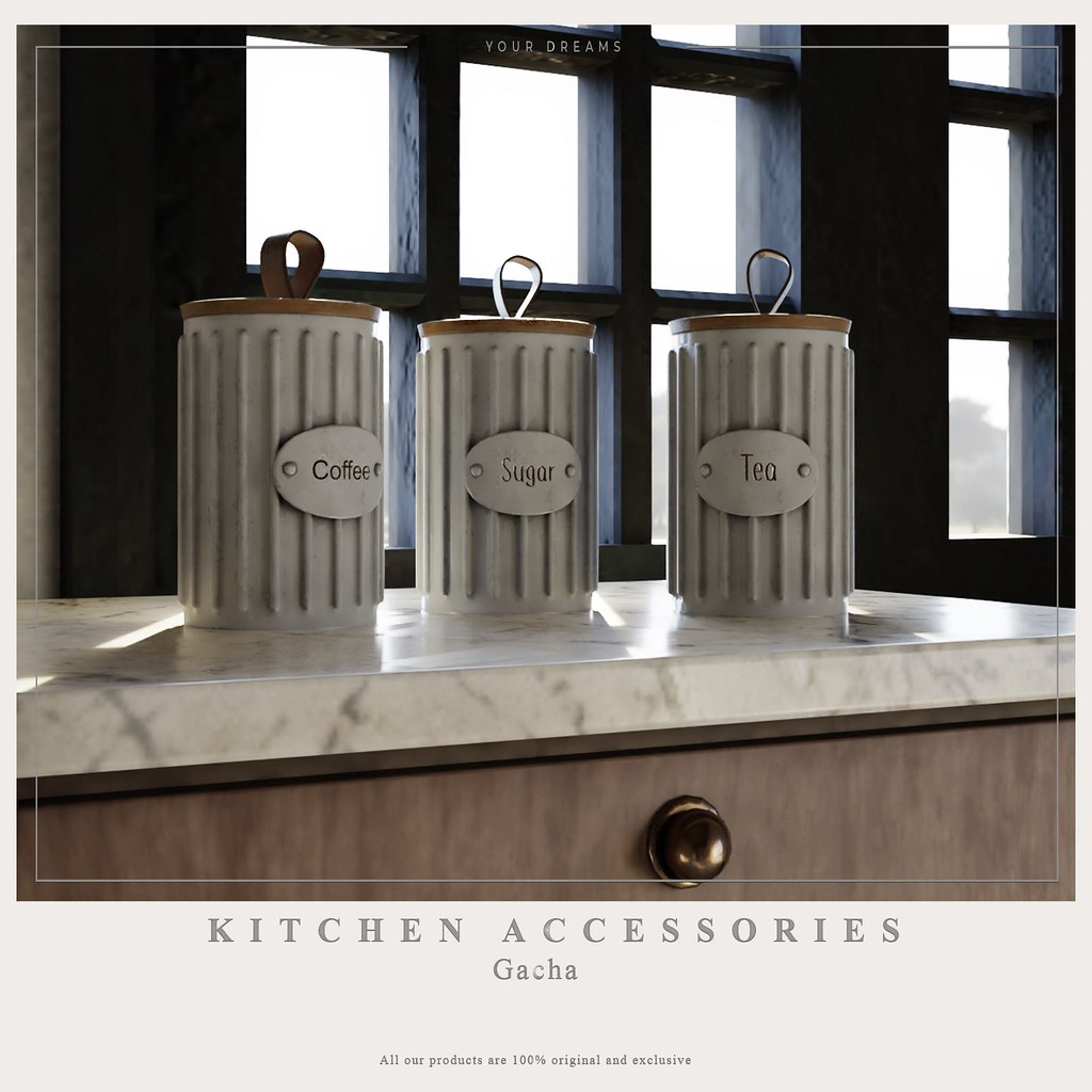 {YD} Kitchen Acessories - TeleportHub.com Live!