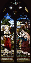 Mary Magdalene meets the risen Christ in the garden (Thomas Curtis for Cox, Sons, Buckley & Co, 1882)