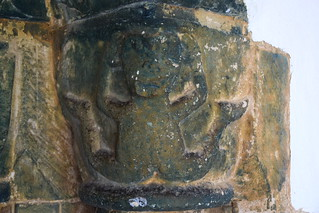 south doorway (detail): sheela na gig?