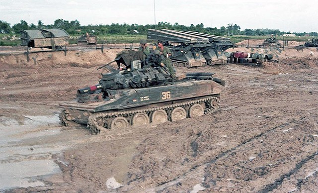 Two M113 LAB and M551 ,