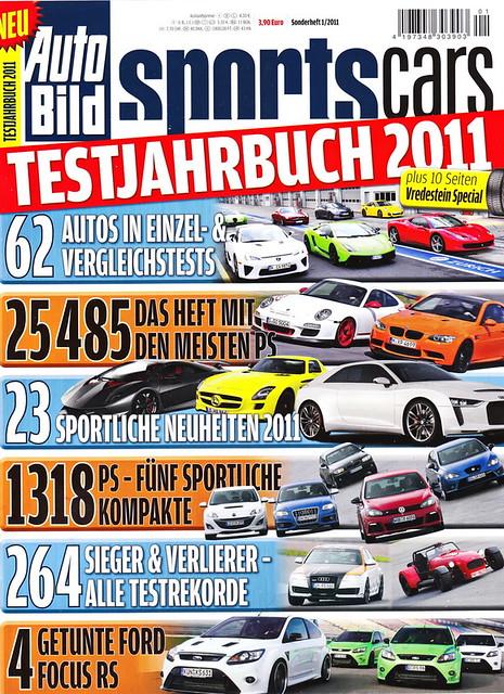 Auto Bild Sportscars - Sonderheft 1/2011