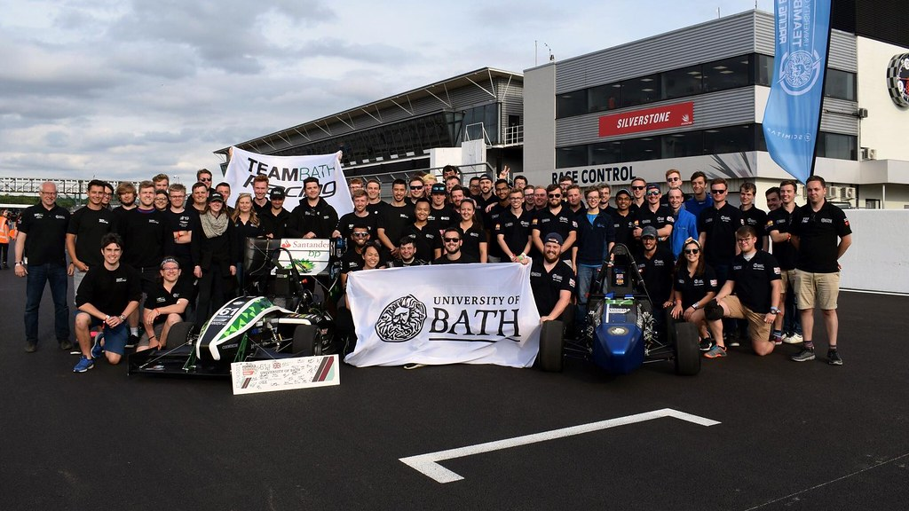 The University of Bath teams at Formula Student 2019