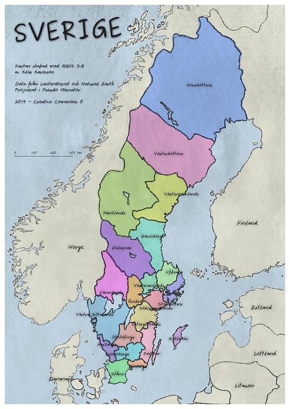 SverigeVattenfärg