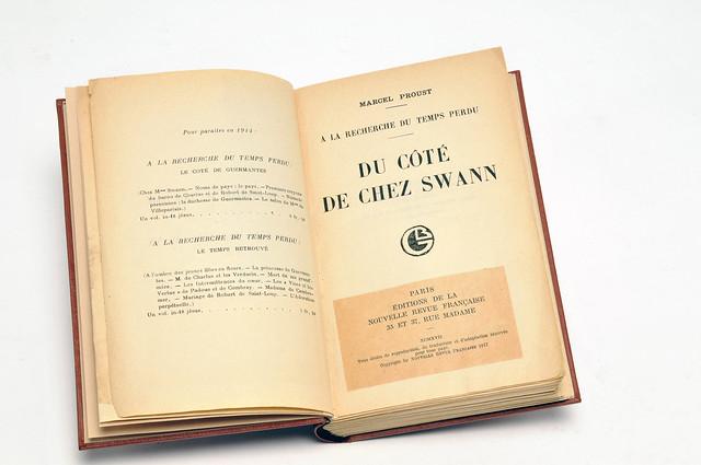 5-Swann-recouvrure édition Grasset 1917-Archives Gallimard