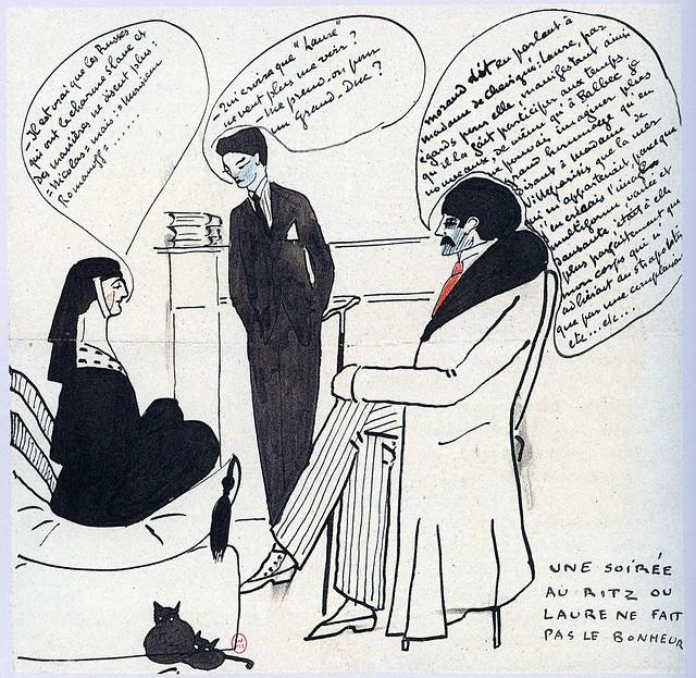 12-Paul Morand, portrait de M.Proust au Ritz-BNF
