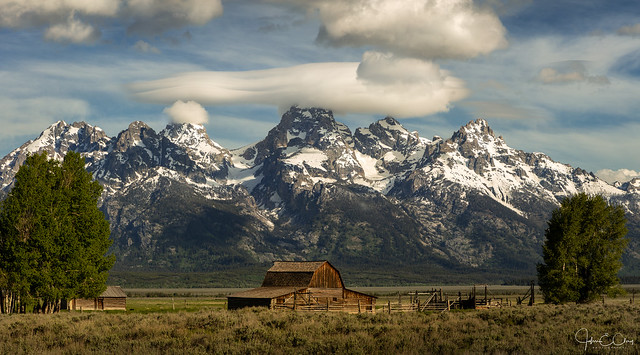 Clouds Over Moulton Barn – Grand Teton National Park