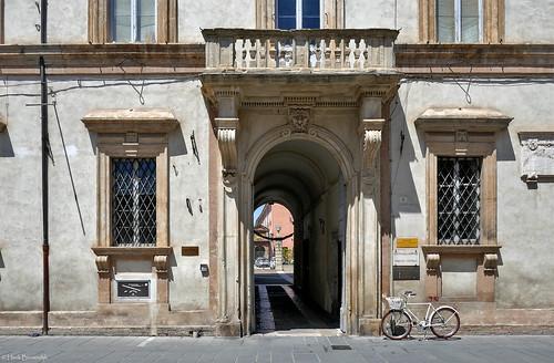 Umbria: Foligno, Palazzo Brunetti Candiotti