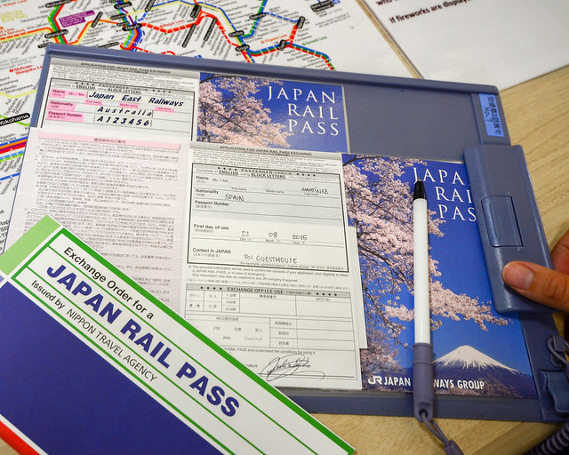 Japan Rail Pass de Japón