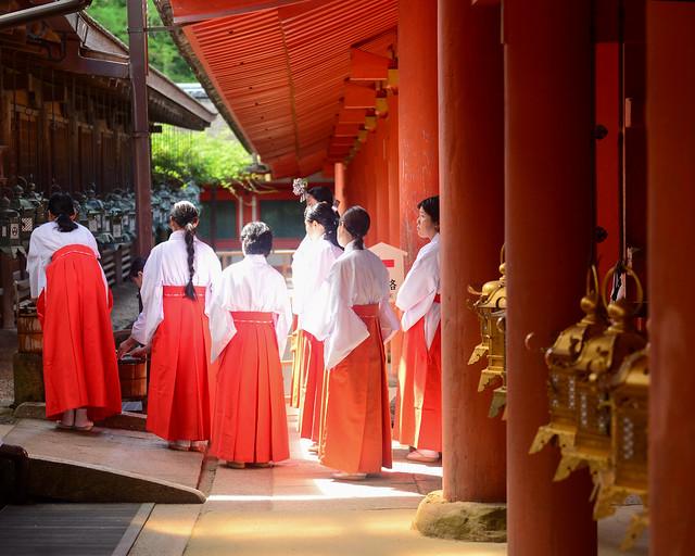 Templo de Nara en Japón