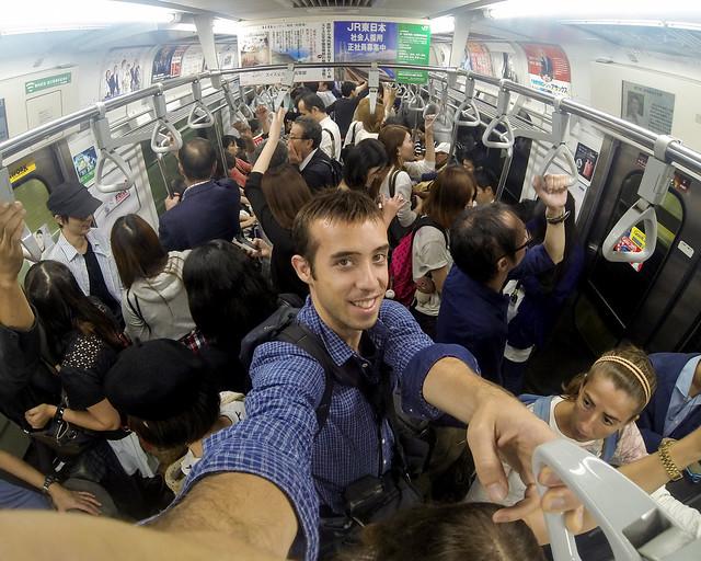 Tips por Japón para usar el metro con la tarjeta Suica