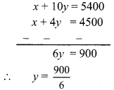 Maharashtra Board Class 9 Maths Solutions Chapter 5 Linear Equations in Two Variables Practice Set 5.2 5