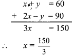 Maharashtra Board Class 9 Maths Solutions Chapter 5 Linear Equations in Two Variables Practice Set 5.2 8a