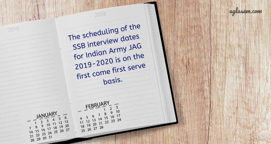 Indian Army JAG 2019-2020 Entry (JAG 24): Notification