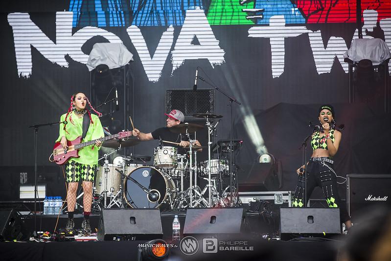 Nova Twins @ Hellfest 2019, Clisson | 23/06/2019