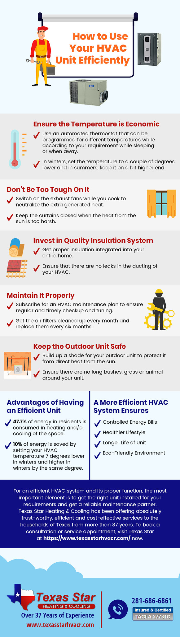 How to Use Your HVAC Unit Efficiently