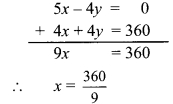Maharashtra Board Class 9 Maths Solutions Chapter 5 Linear Equations in Two Variables Practice Set 5.2 7b
