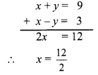 Maharashtra Board Class 9 Maths Solutions Chapter 5 Linear Equations in Two Variables Practice Set 5.2 7a