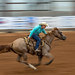 Barrel Racer at Dripping Springs Rodeo
