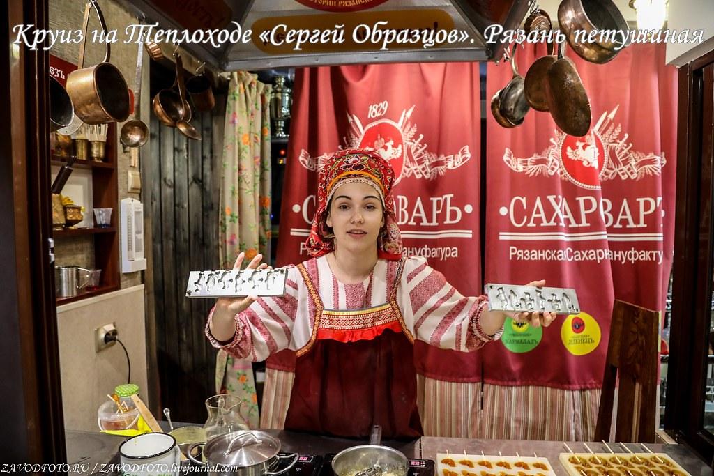 Круиз на Теплоходе «Сергей Образцов». Рязань петушиная
