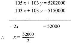 Maharashtra Board Class 9 Maths Solutions Chapter 5 Linear Equations in Two Variables Practice Set 5.2 9b