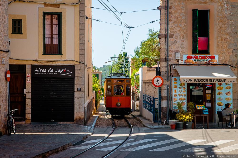 Поезд в Сольер