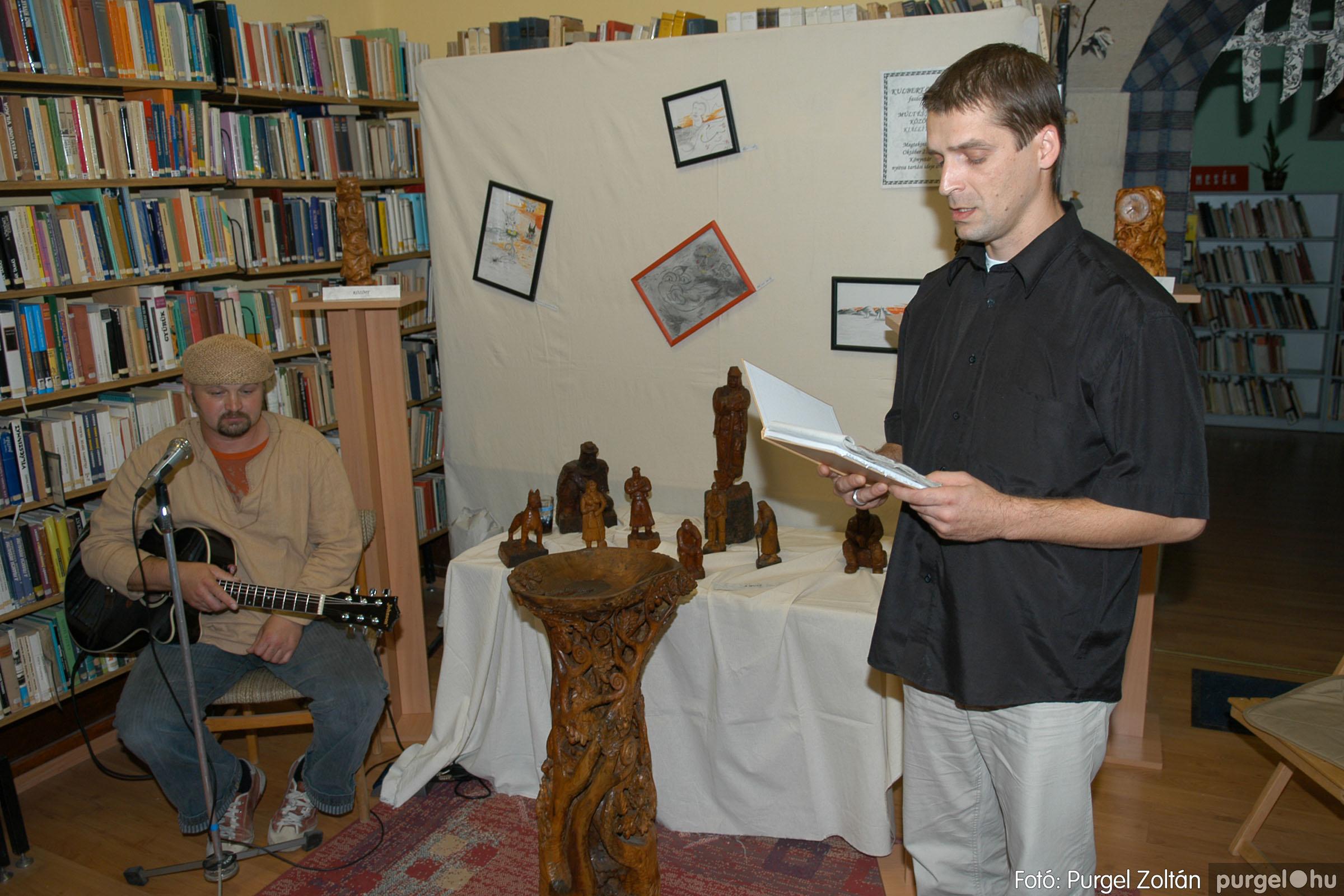 2006.10.08. 003 Kulbert György fafaragó kiállítása - Fotó:PURGEL ZOLTÁN© DSC_0079q.jpg