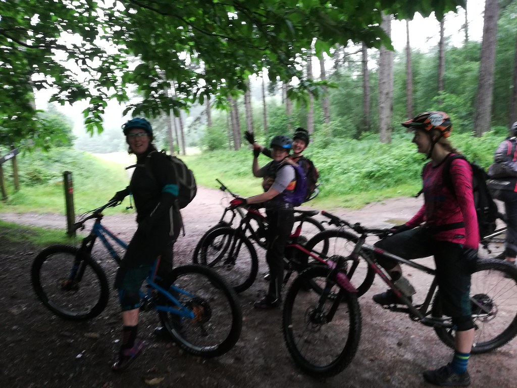 Cotic Women of Steel ride out Sherwood Pines