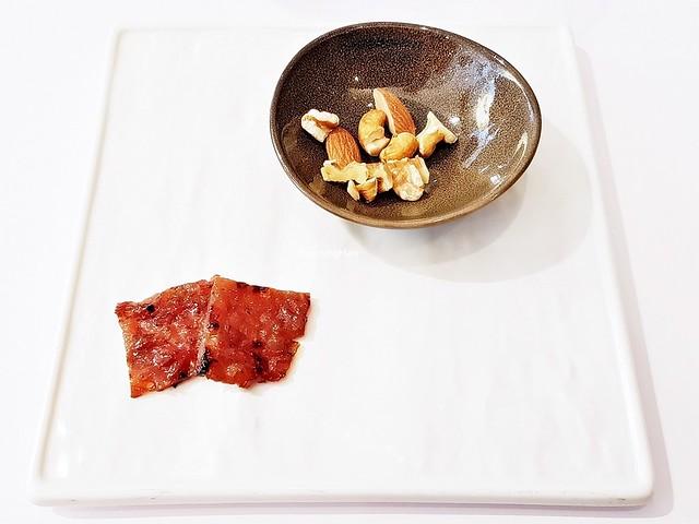 Bak Kwa Sliced Chicken & Mixed Chopped Nuts