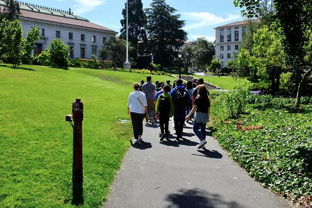 Berkeley yliopisto kierros
